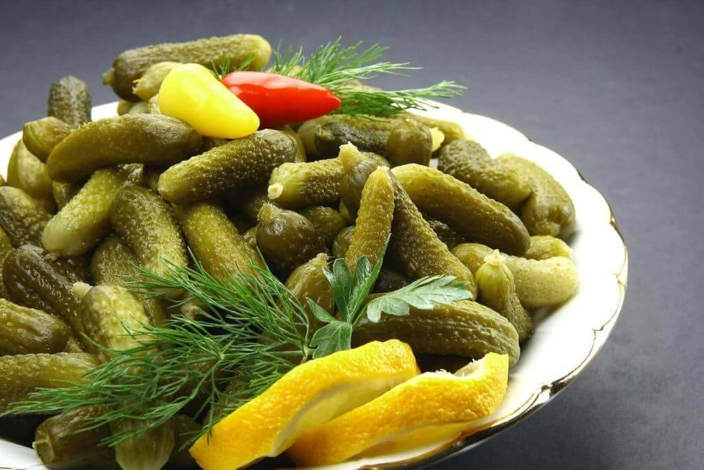Eingelegte Gurken - Salatalık Turşusu