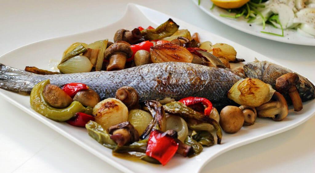 Fisch im Ofen - Fırında Levrek
