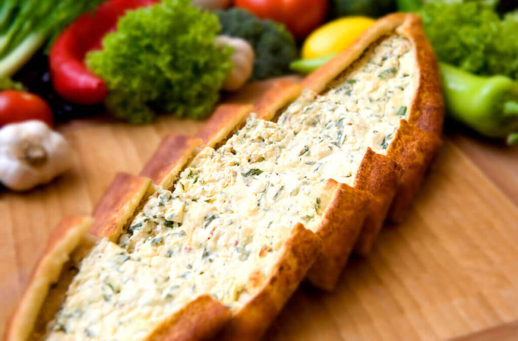 Käsefladen - Peynirli Pide