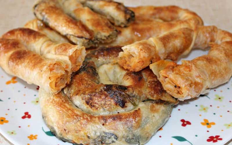 Türkische Rezepte mit Hackfleisch Börek