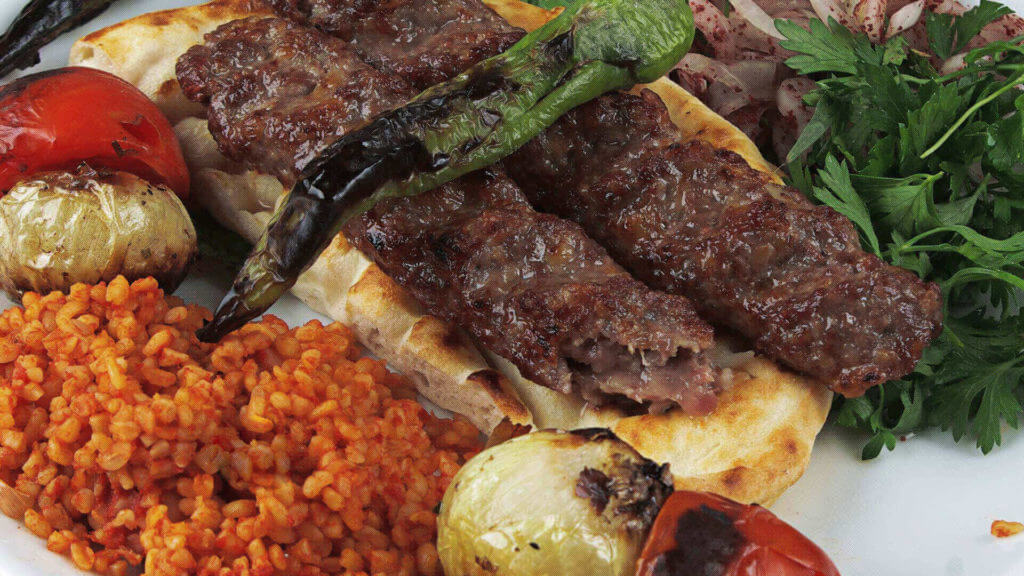 Türkische Kebab - Adana Kebabı