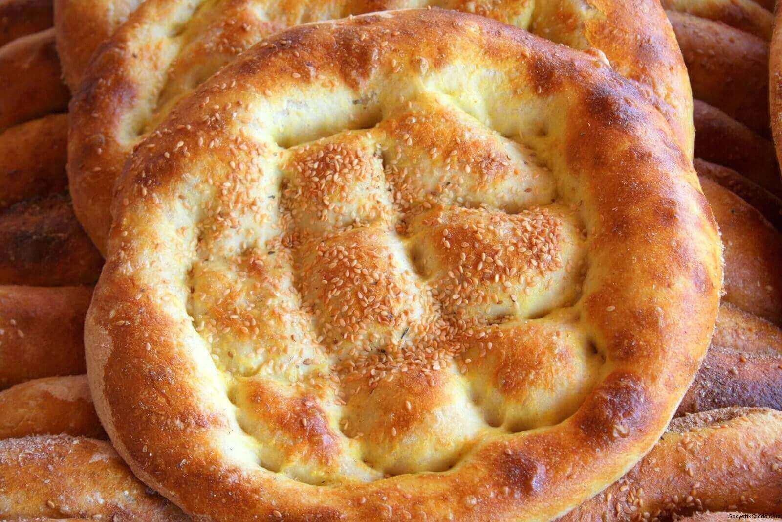 Türkisches Fladenbrot - Ramazan Pidesi
