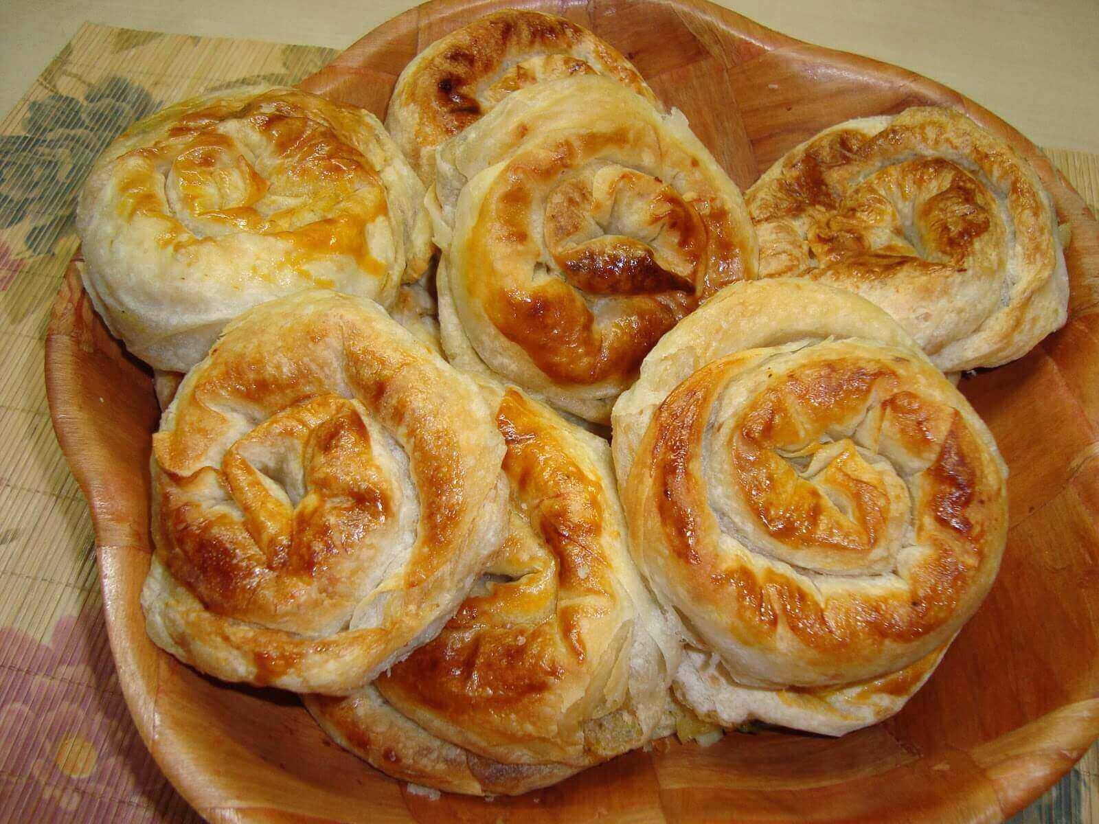 Börek mit Kartoffel - Patatesli Börek