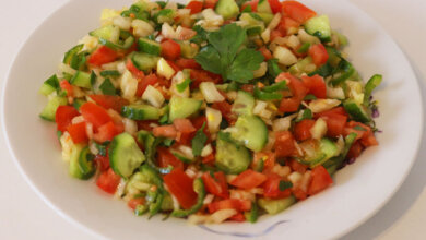 Photo of Hirtensalat Coban Salatasi Rezept – Türkischer Salat