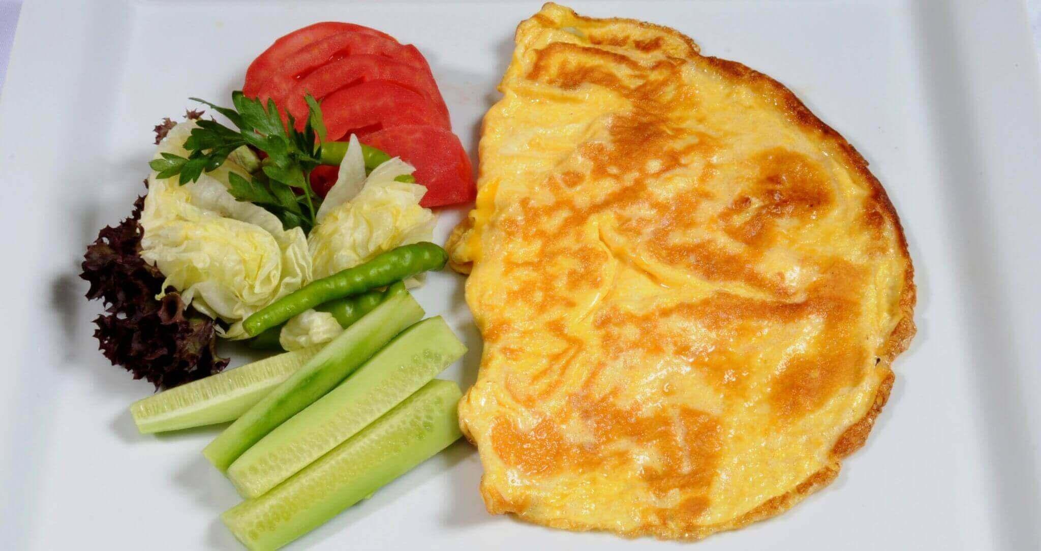 Omelett mit Gouda - Kaşarlı Omlet