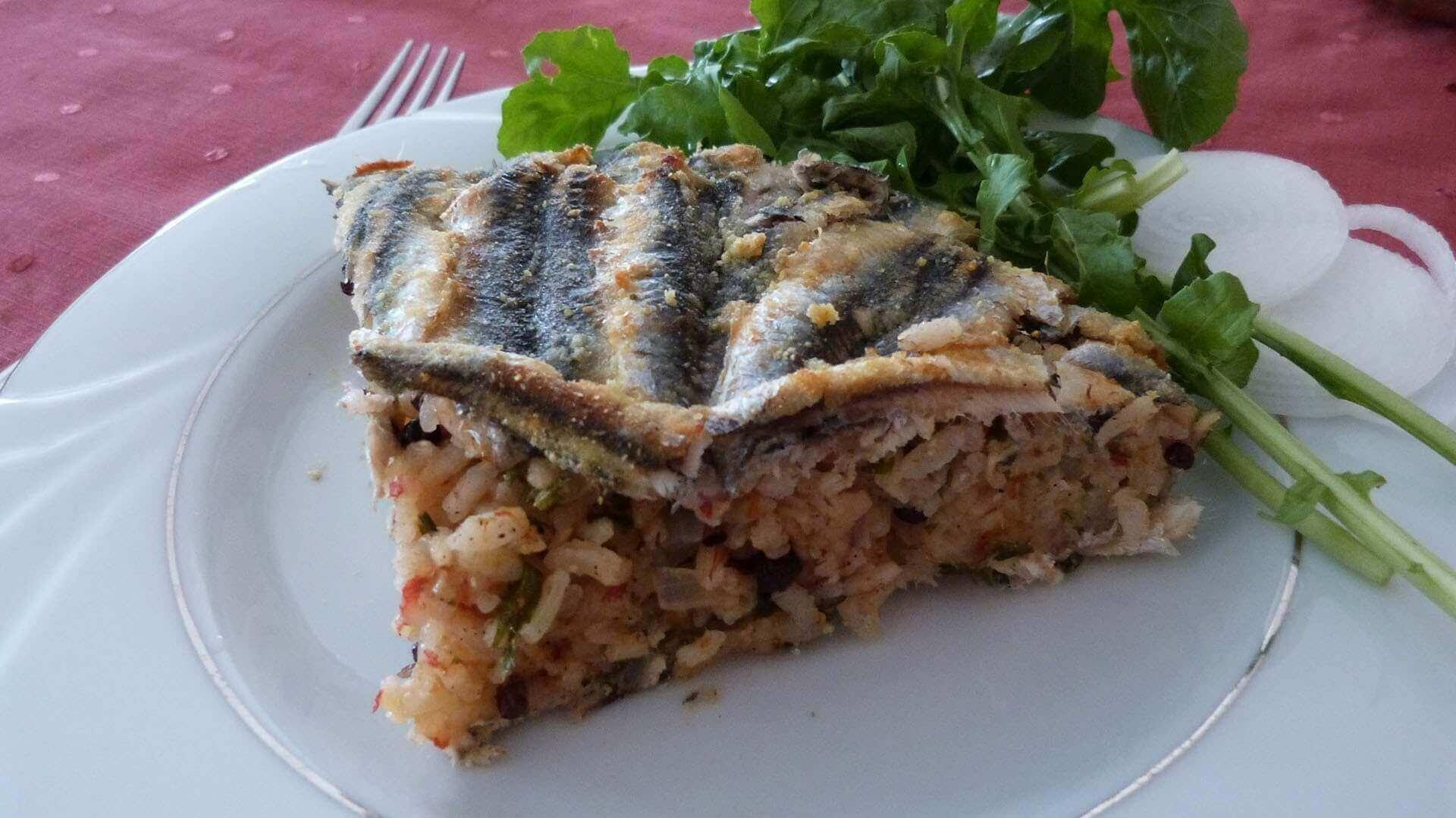 Sardellen mit Reis - Hamsili Pilav