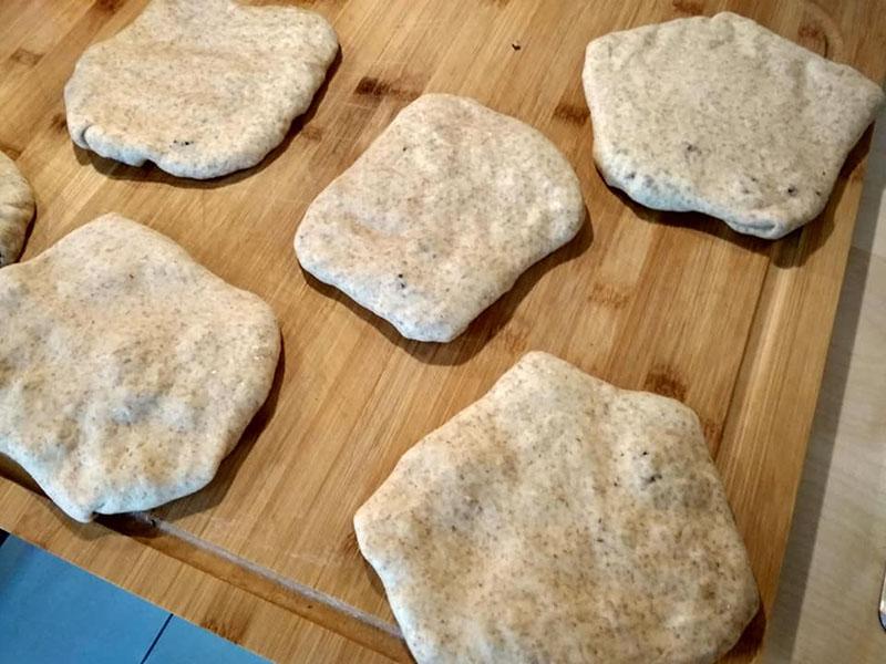 Bazlama Rezept - Türkische Bazlama Brötchen