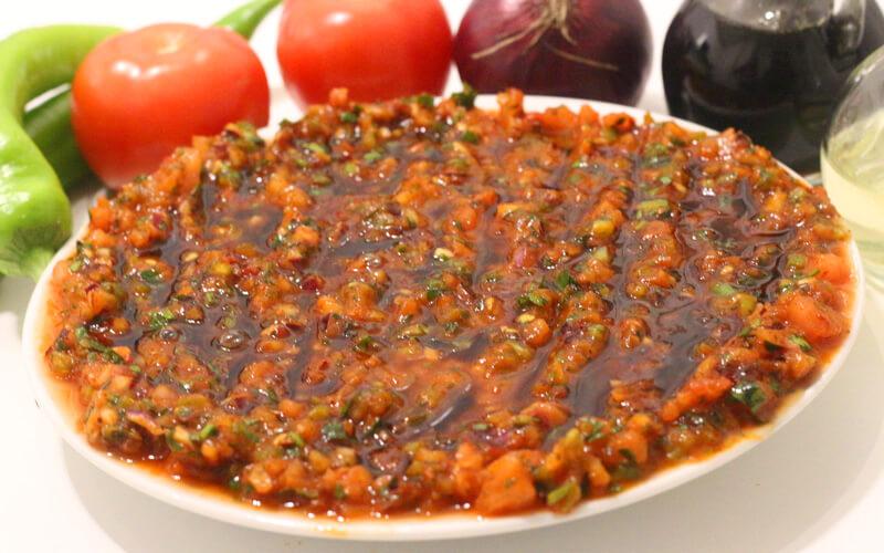 Türkische Paprika Peperoni Dip - Acılı Ezme