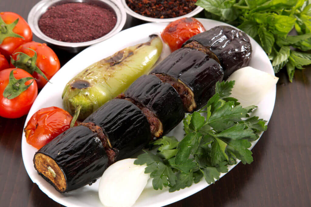 Auberginen Kebab - Patlıcan Kebabı