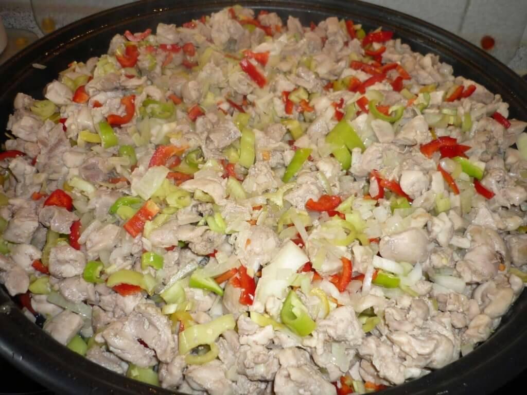 Hähnchenpfanne - Tavuk Sote