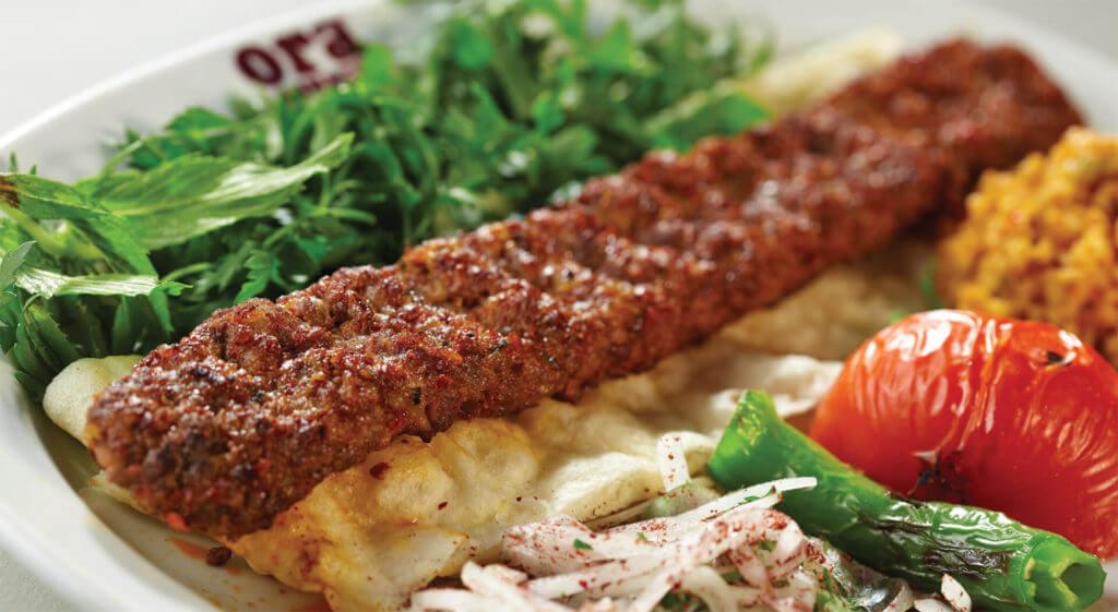 Urfa Kebab - Türkische Kebab