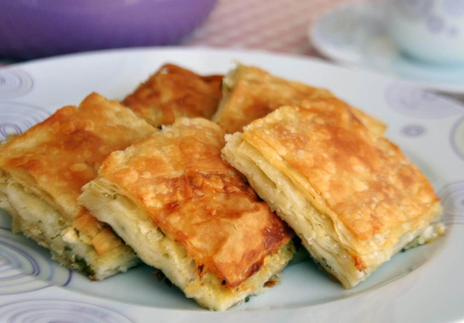 Borek Mit Kase Peynirli Tepsi Boregi Turkische Rezepte