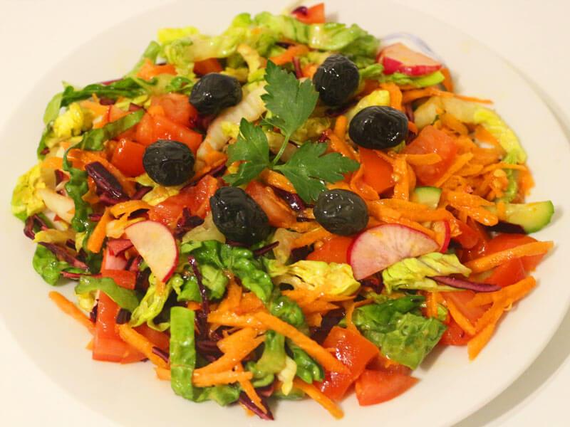 Gemischter Salat Türkischer Mevsim Salat