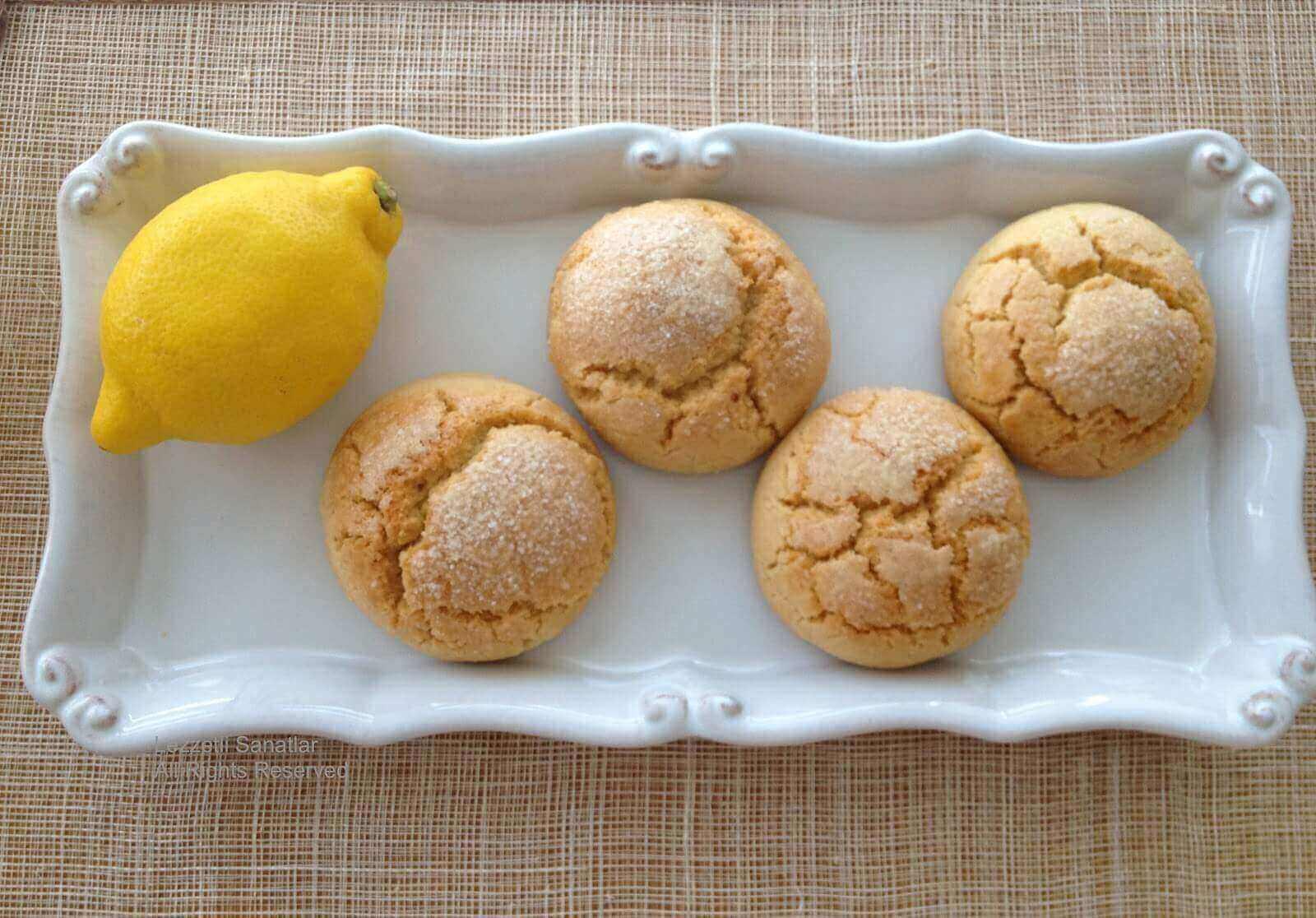 Zitronenplätzchen - Limonlu Kurabiye