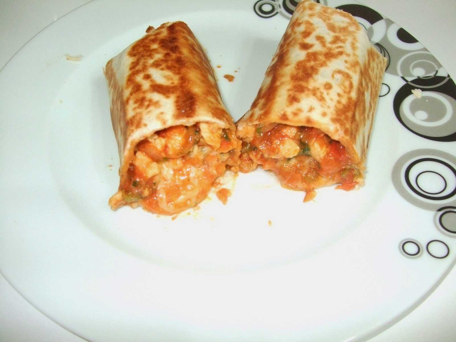 Chicken Wrap - Tavuklu Dürüm