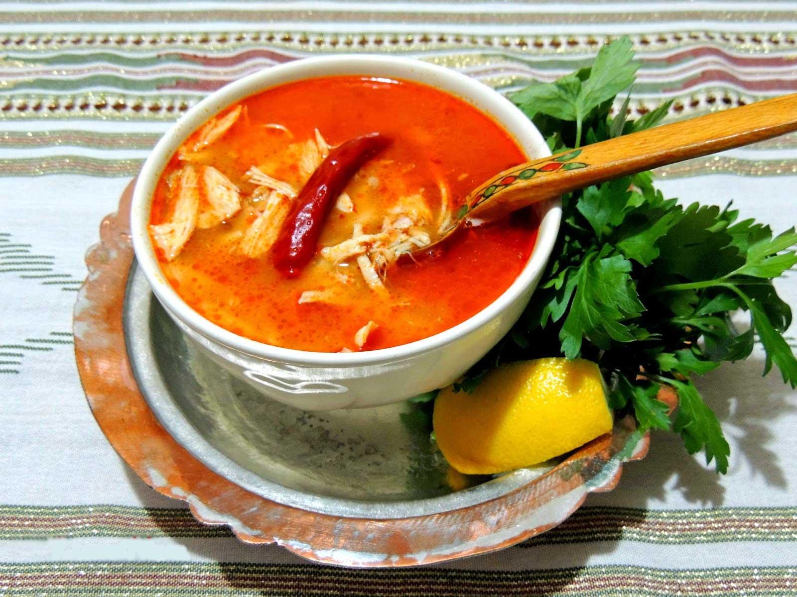Hühnersuppe - Tavuk Çorbası