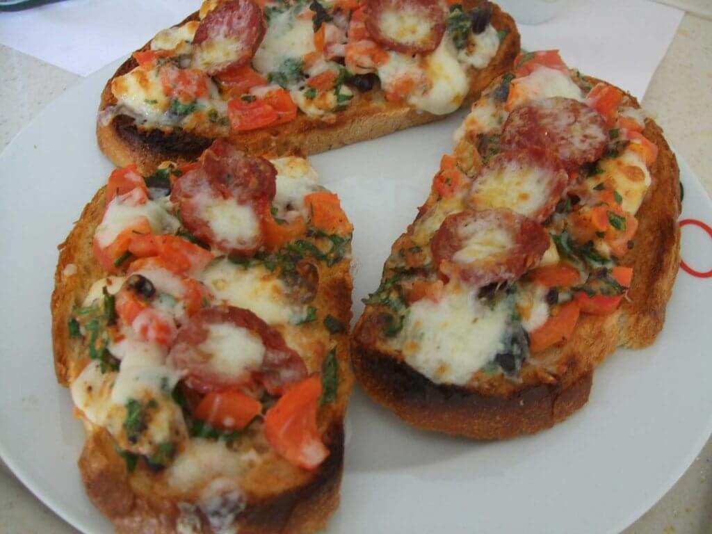 Pizzabrötchen Rezept - Pizza Ekmek Tarifi
