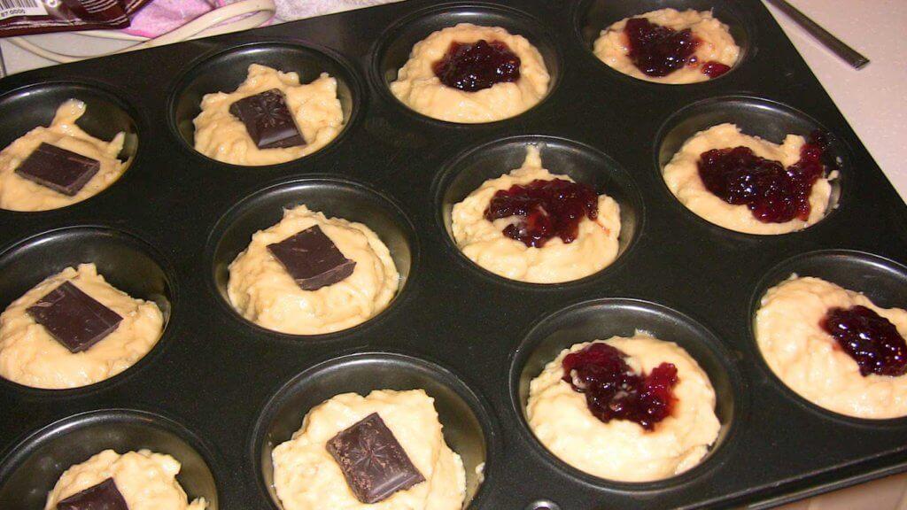 Riesen Muffins Rezept - Dev Muffinler Tarifi