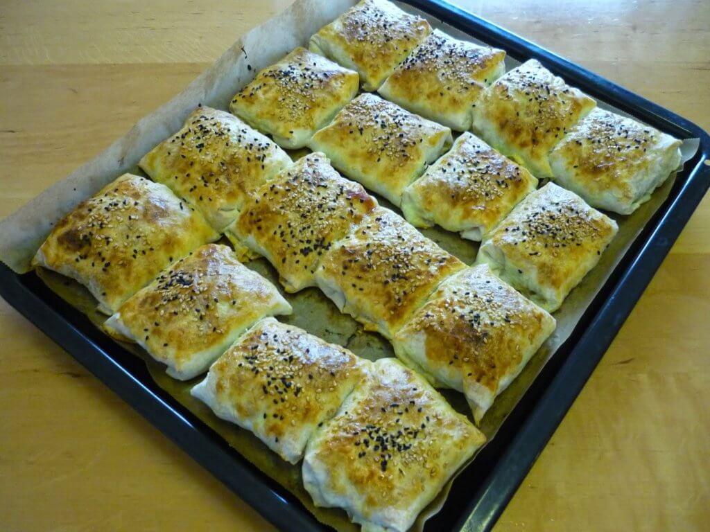 Börek mit Hackfleisch Rezept - Kıymalı Bohça Börek Tarifi