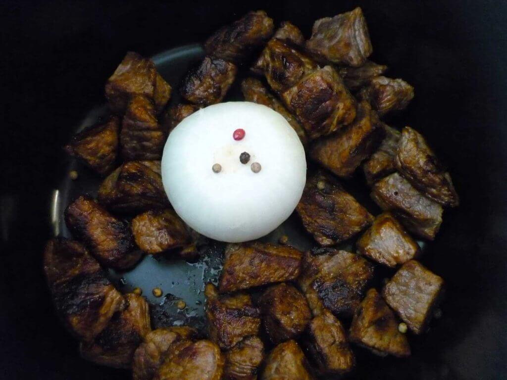 Fleisch mit Gemüse Rezept - Sebzeli Et Haşlama Tarifi