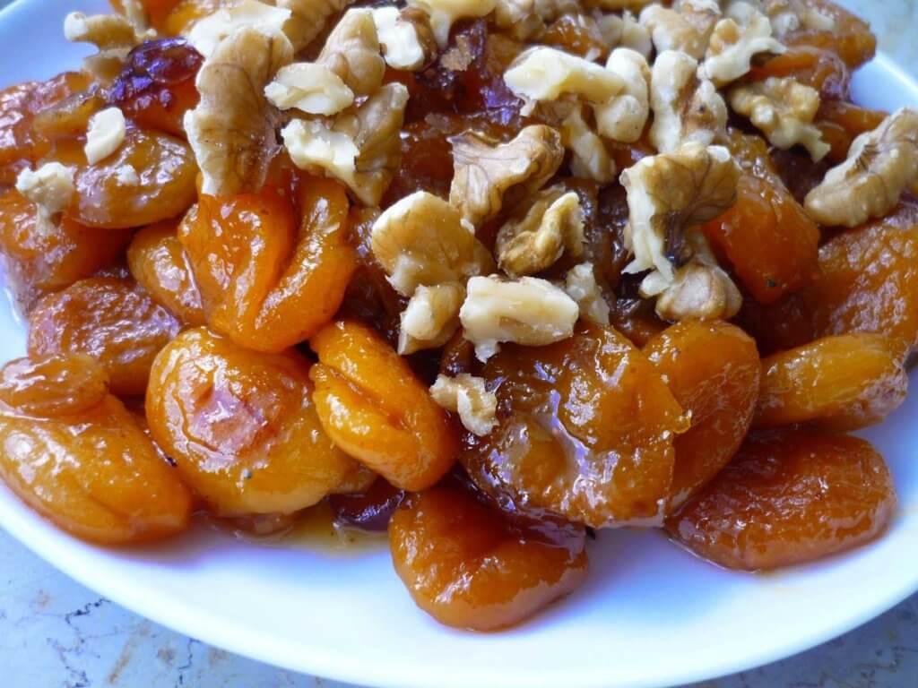 Getrocknete Aprikosen Dessert - Kuru Kayısı Tatlısı