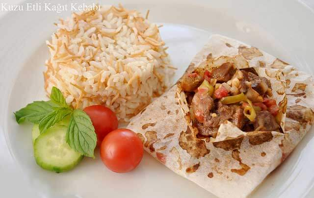 Kebab in Backpapier - Kağıt Kebabı