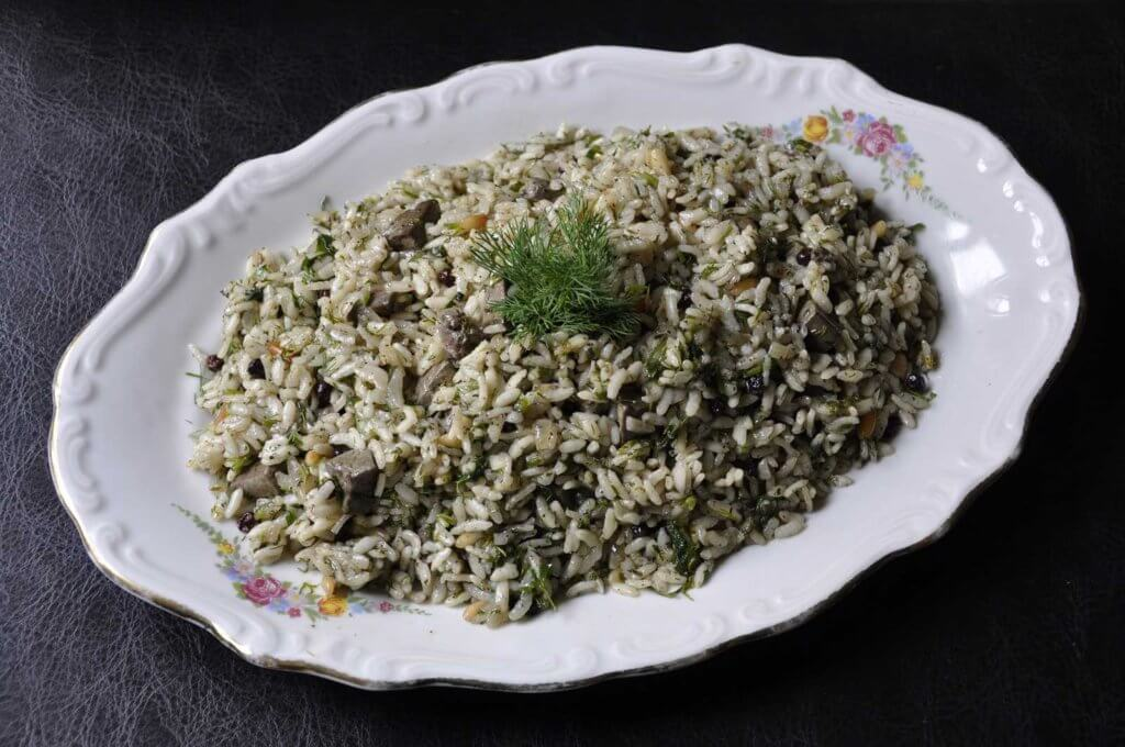 Reis mit Lammleber - Kuzu Ciğerli Pilav