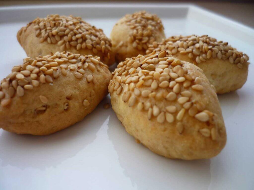 Türkische Plätzchen mit Sesam - Susamlı Kuru Pasta