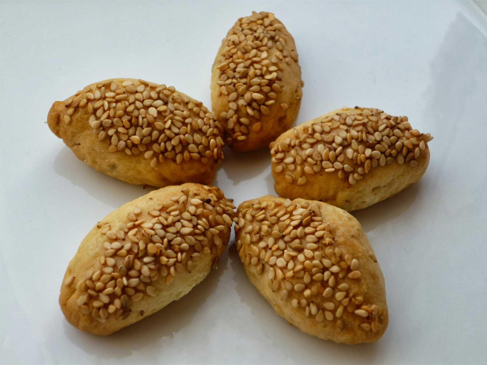 Photo of Türkische Plätzchen mit Sesam – Susamlı Kuru Pasta