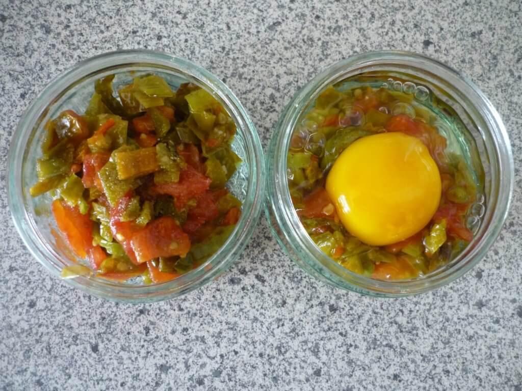 Türkisches Pfannengericht im Ofen Rezept - Fırında Menemen Tarifi