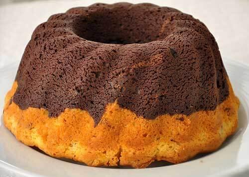 Zweifarbiger Kuchen – İki Renkli Kek