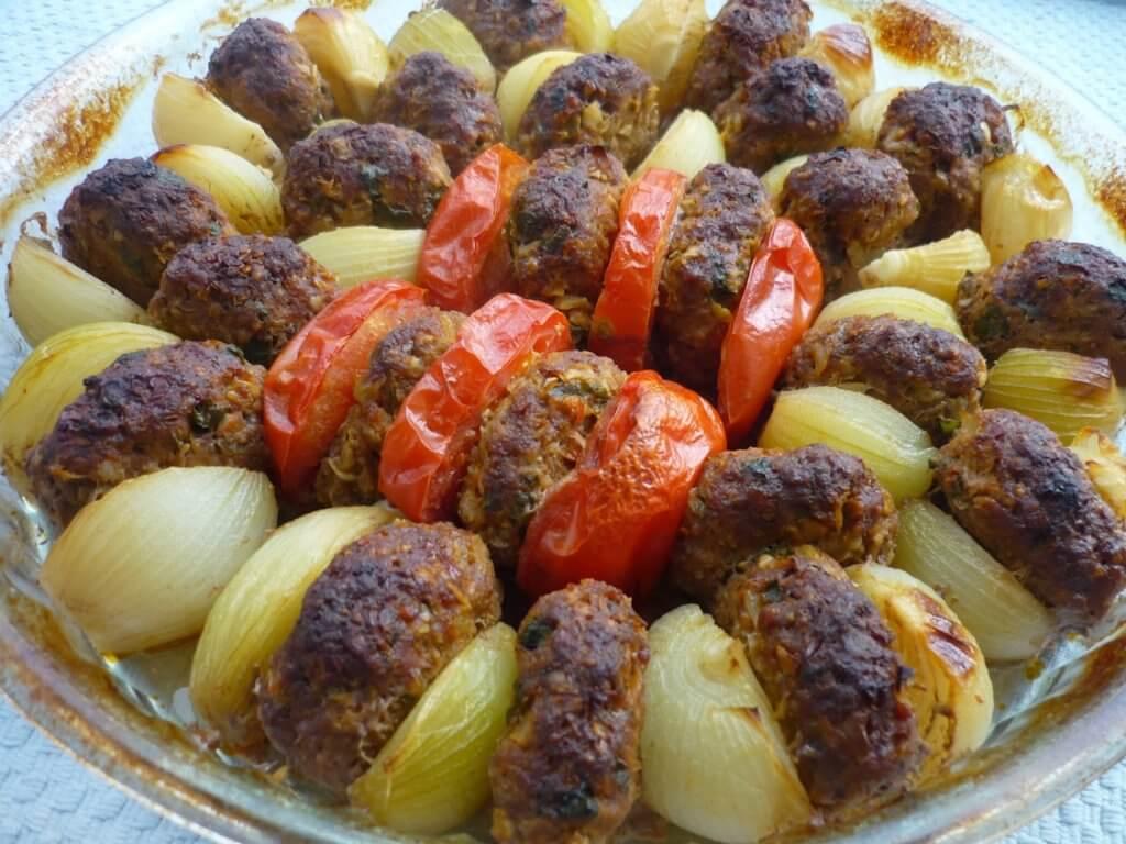Zwiebel Kebab - Soğan Kebabı