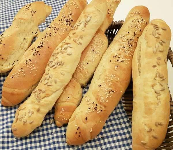 Brot mit Dinkelmehl - Spelt Unundan Ekmek