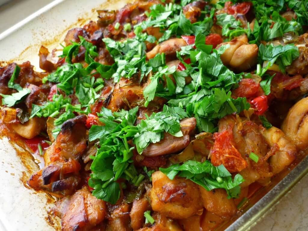Hähnchen mit Kartoffel Rezept - Patatesli Tavuk Yemeği Tarifi