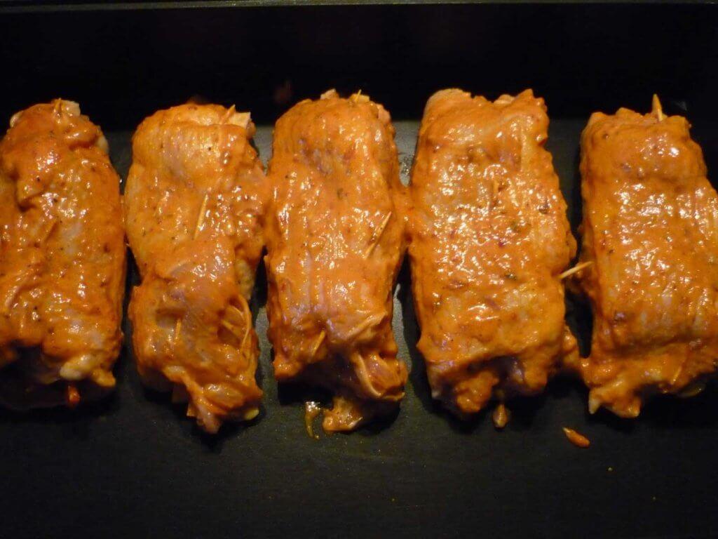 Hähnchenrolle Rezept - Tavuk Sarma Tarifi