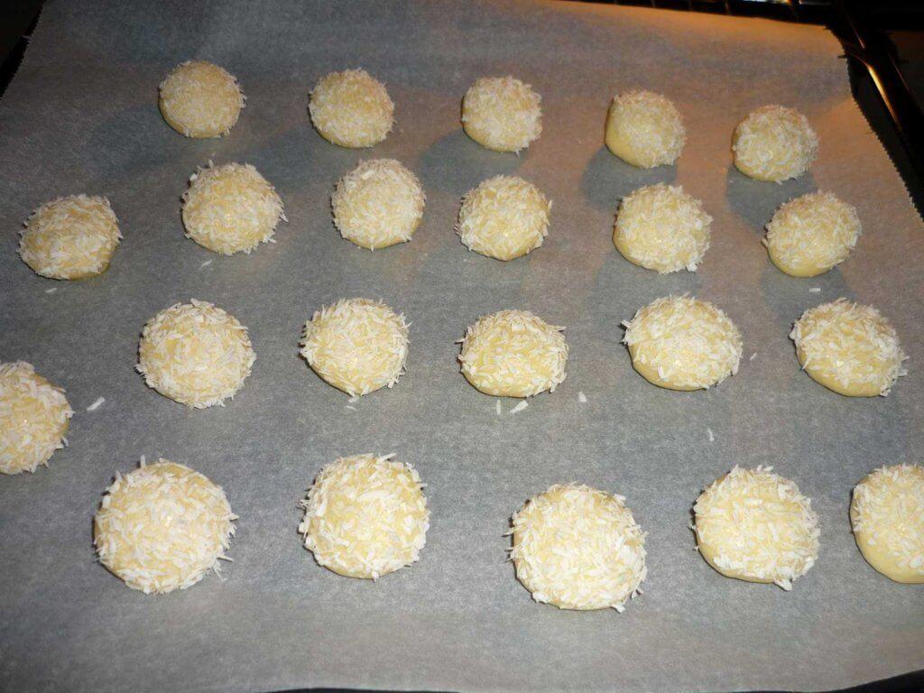 Kokos-Kekse Rezept - Hindistan Cevizli Kurabiye Tarifi