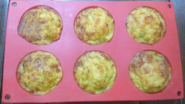 Omelett mit Kartoffel und Gouda im Ofen Rezept - Patatesli Kaşarlı Omlet Tarifi