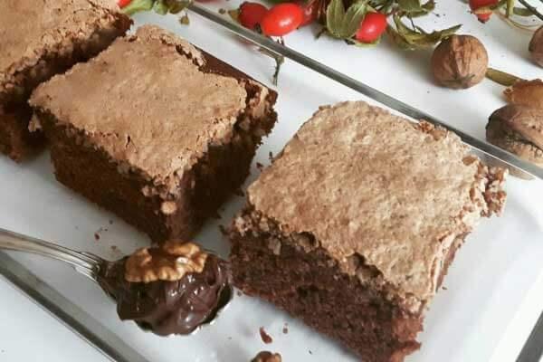 Schokokuchen mit Nüssen - Çikolatalı Fındıklı Pasta