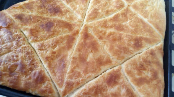 Knuspriges faltiges Gebäck Rezept – Kat Kat Çıtır Çörek Tarifi