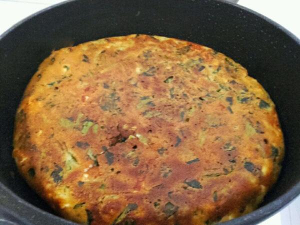 Börek mit Spinat aus der Pfanne Rezept - Tavada Ispanaklı Börek Tarifi