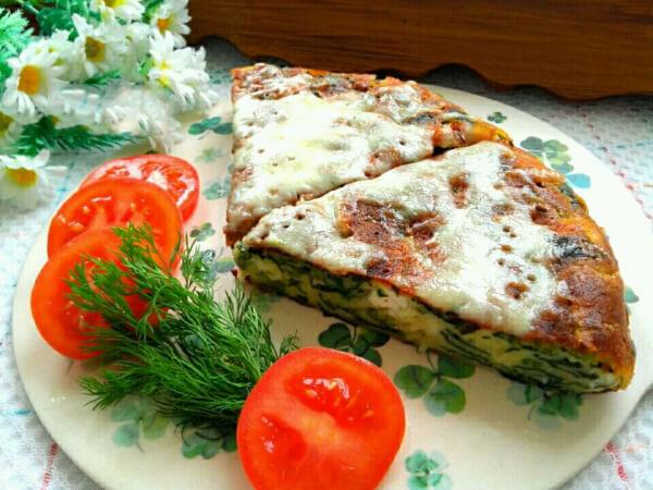 Börek mit Spinat aus der Pfanne - Tavada Ispanaklı Börek