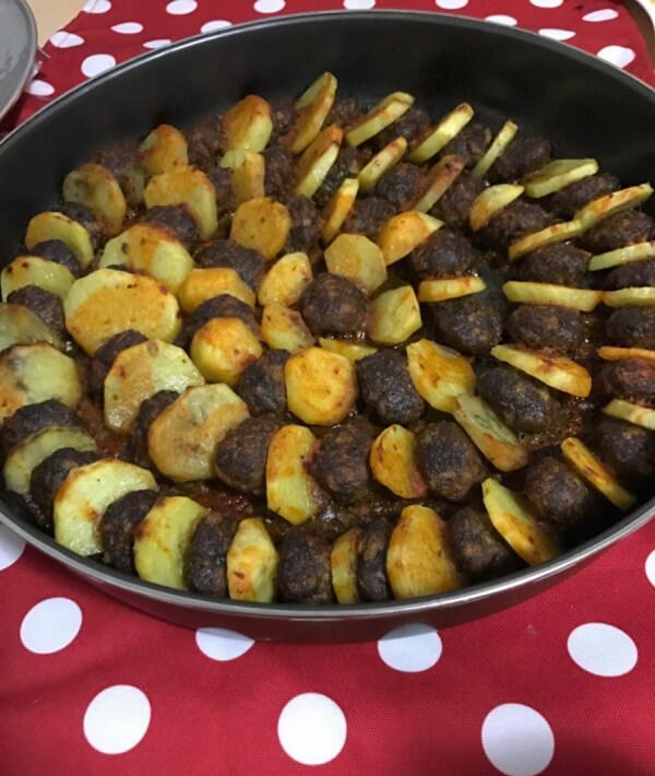 Kartoffel Kebab – Patates Kebabı