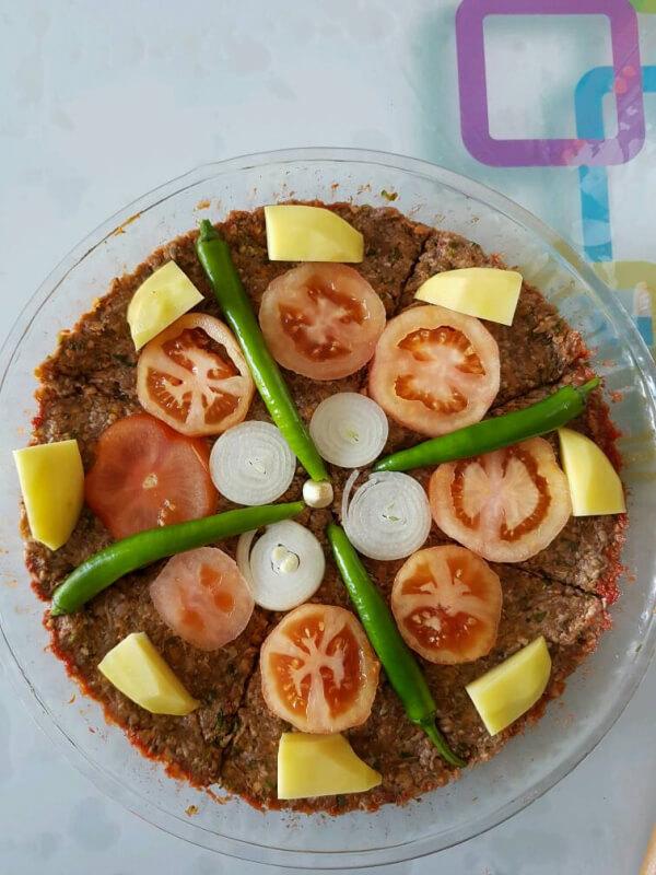 Kebab im Blech - Tepsi Kebabı