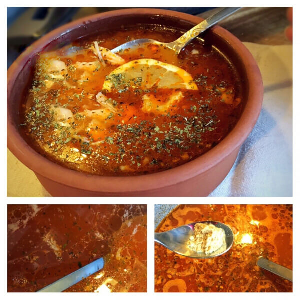 Hühnersuppe aus Hühnerbrühe - Tavuk Suyu Çorbası