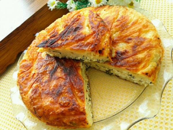 Börek mit Nudeln - Makarnalı Börek