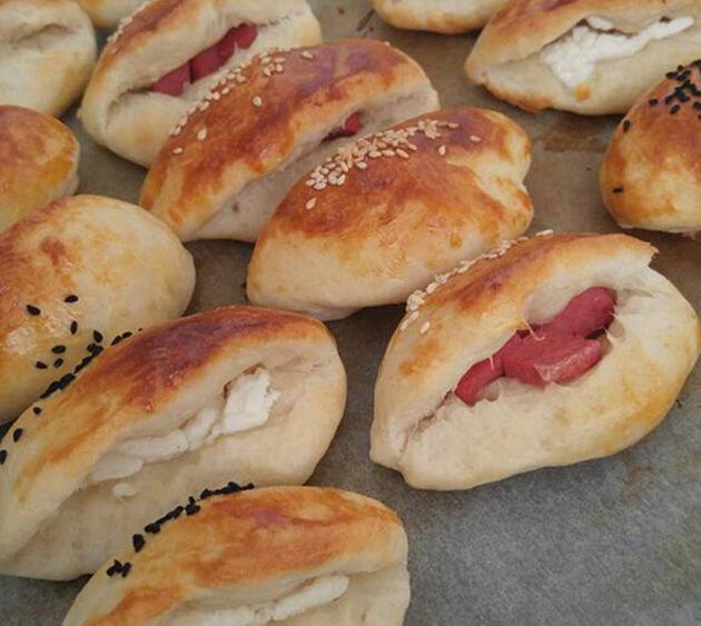 Börek mit Salami - Salamlı Poğaça