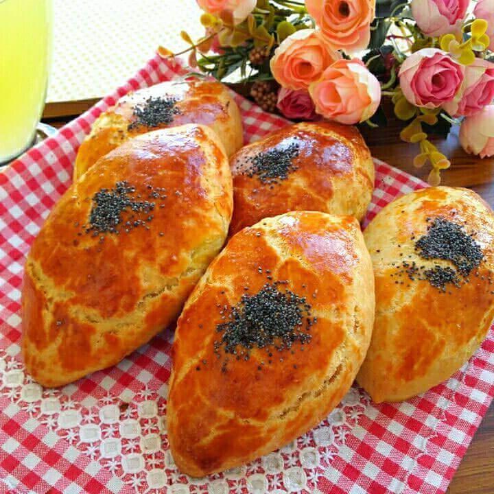 Börek mit Spinat - Ispanaklı Poğaça