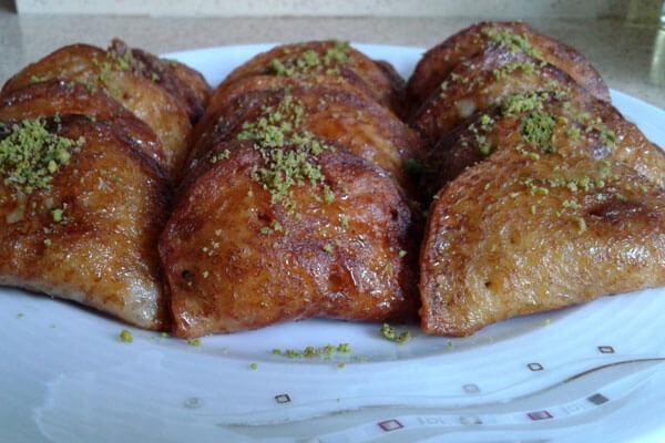 Türkisches Dessert - Taş Kadayıf Tatlısı