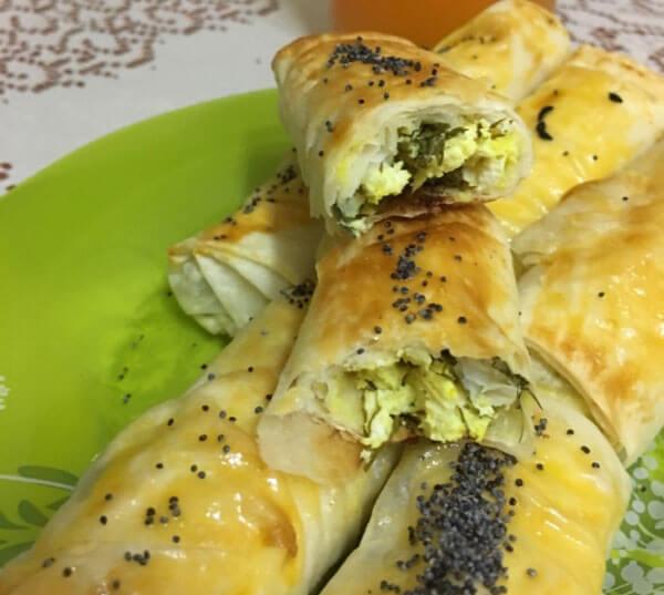 Börek mit Dill - Dereotlu Börek