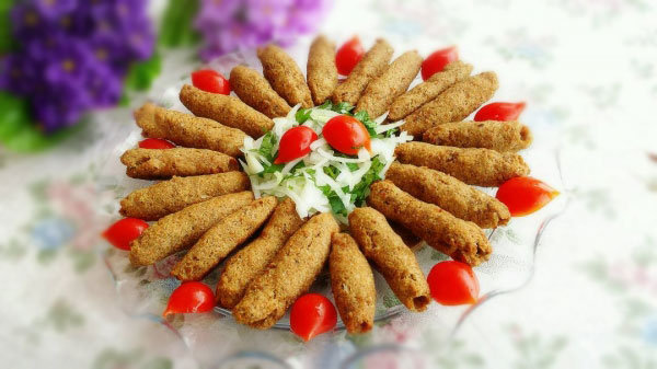 Bulgur Kebab - Oruk Kebabı